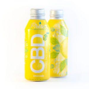 Prism Sparkling CBD Water :: Limoncello