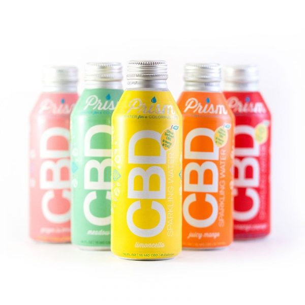Prism Sparkling CBD Water :: All Flavors